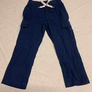 FABKIDS SIZE small (5/6) navy blue jogger pants .
